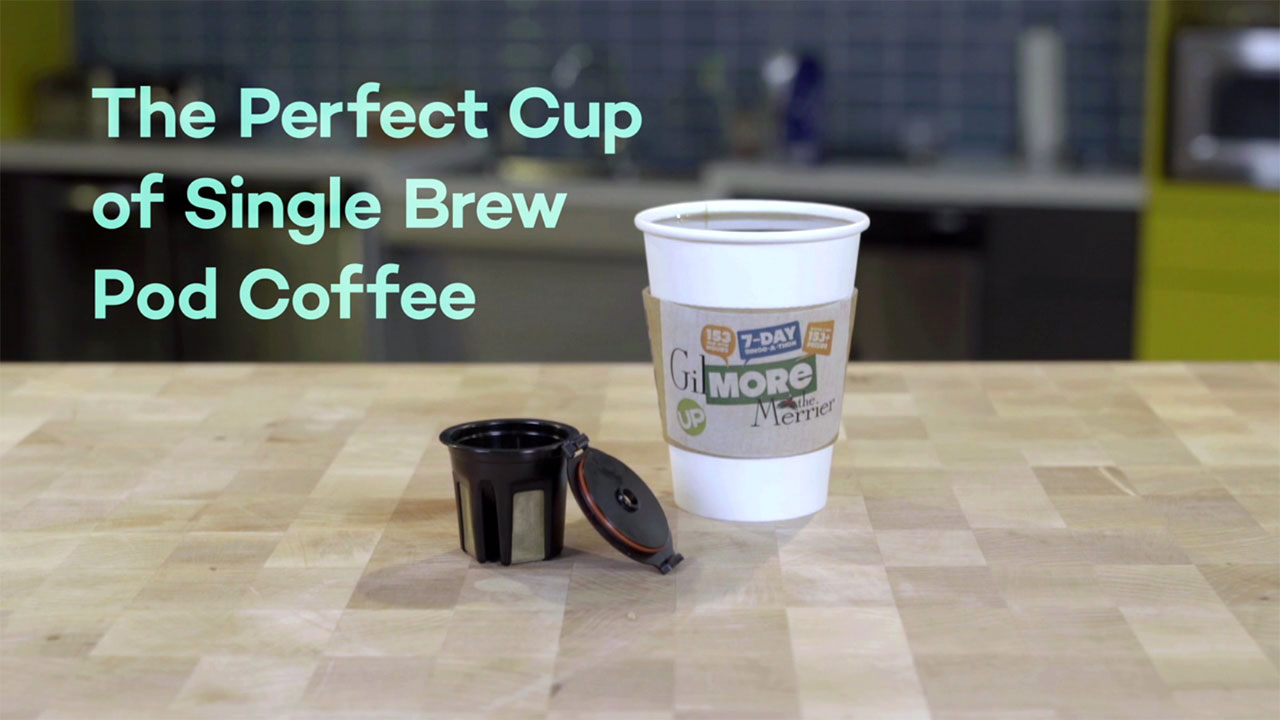 Gilmore Girls - Gilmore The Merrier – The Perfect Single Brew Pod Coffee