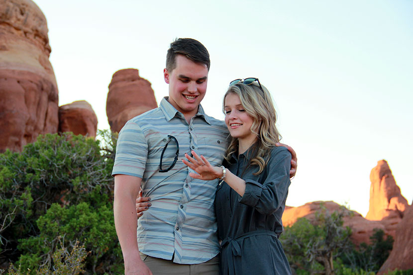 Josie Bates and Kelton Balka are engaged!