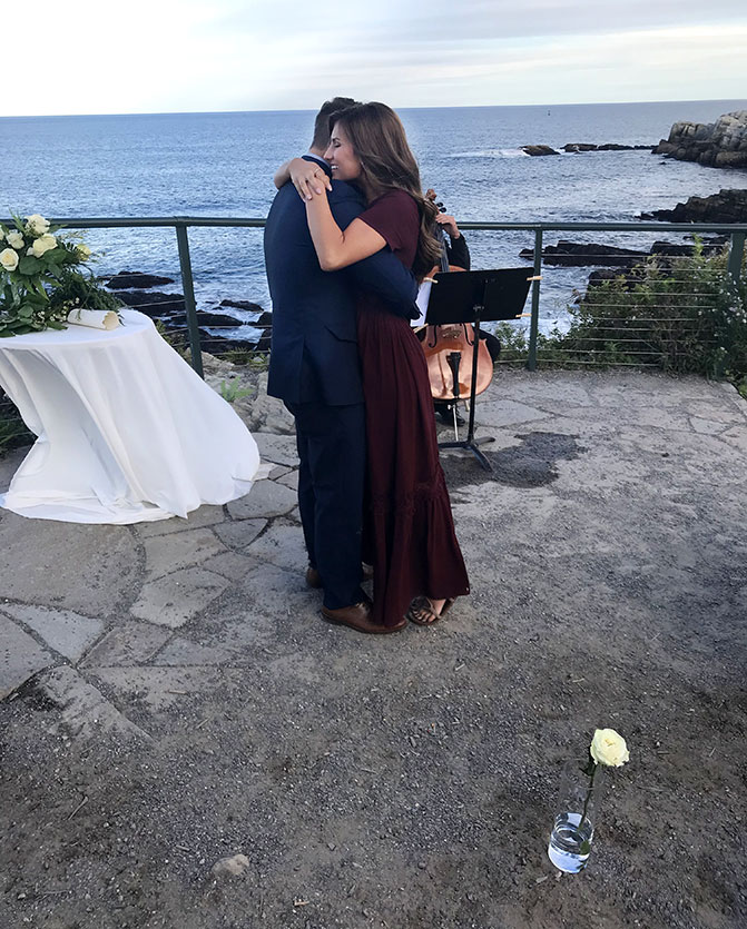 Carlin Bates and Evan Stewart are Engaged! View photos of the proposal!