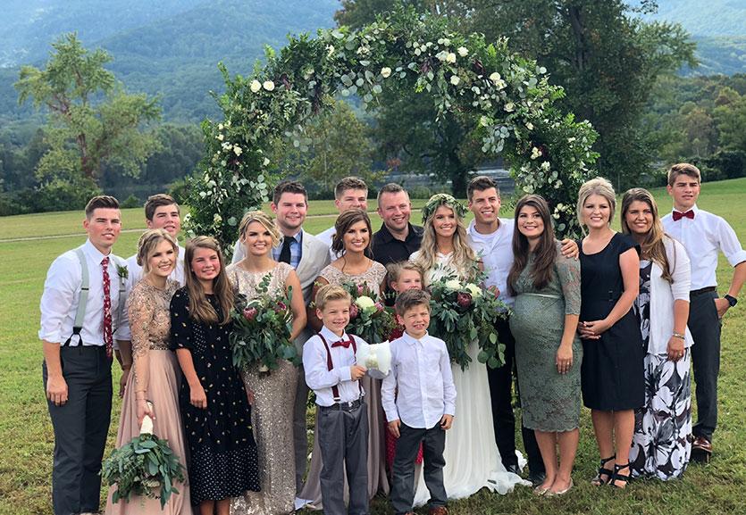 Josie Bates and Kelton Balka Wedding - The Bates Family