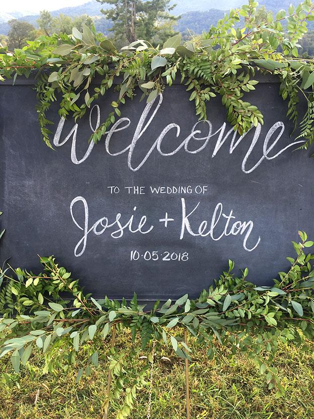 Josie Bates and Kelton Balka Wedding