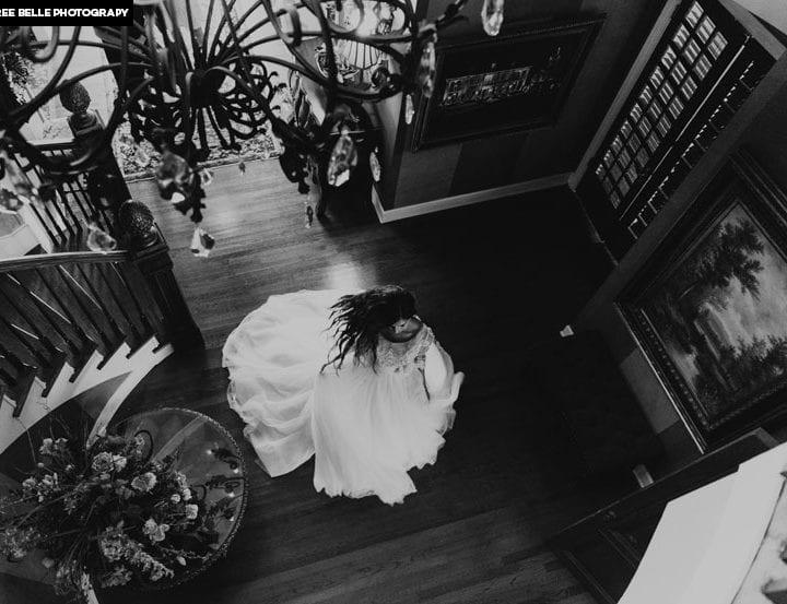 Carlin Bates and Evan Stewart wedding