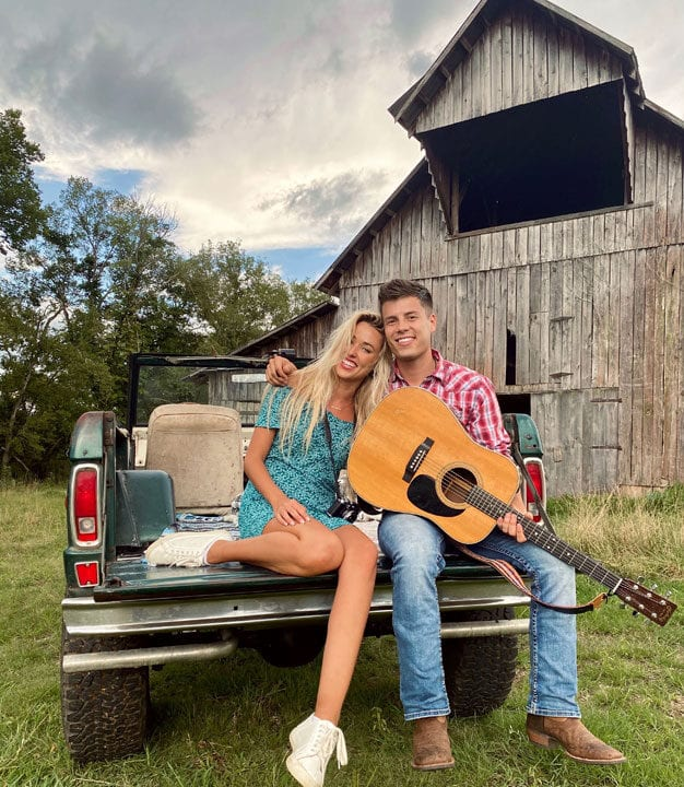 Lawson Bates Music Video 'Song for a Girl' with Heather Martin
