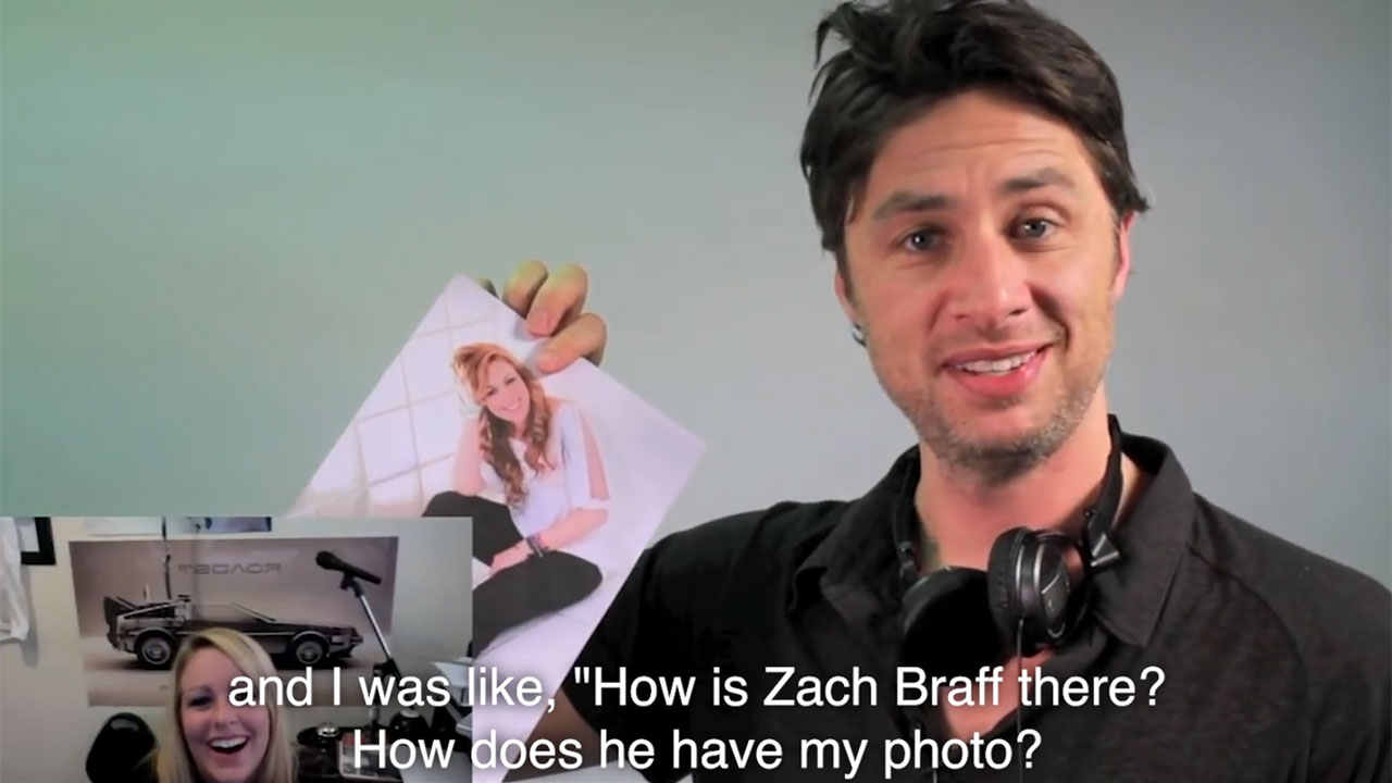 Remember This: TV Star Zach Braff Helps With Marriage Proposal