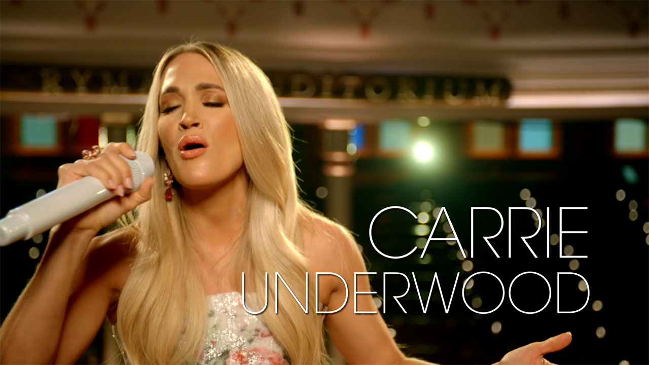 Carrie Underwood – My Savior: Live From The Ryman - Carrie Underwood – My Savior: LIVE From The Ryman – Special Preview